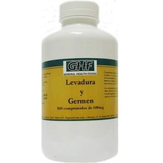 LEVADURA Y GERMEN 550 comp. de 600mg.